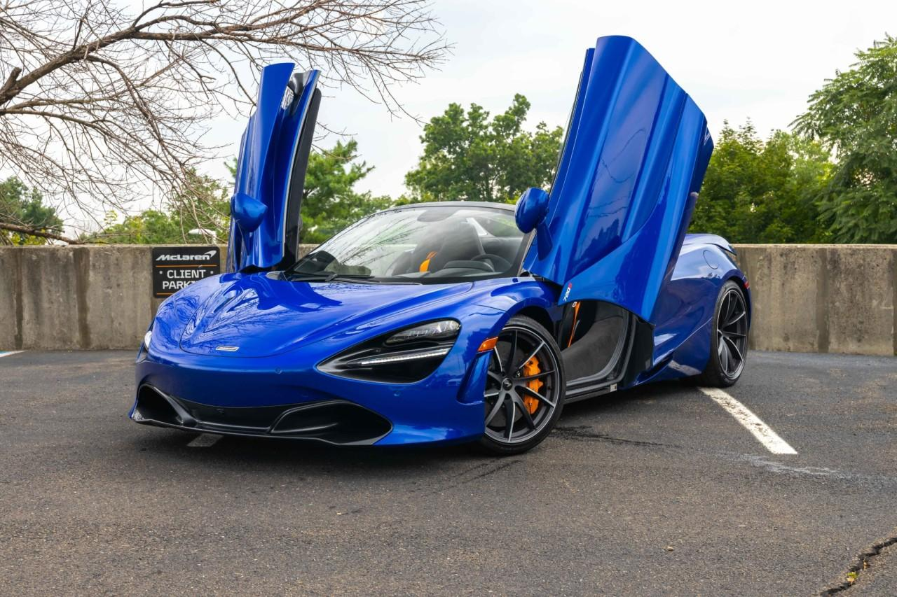 New 2021 McLaren 720S for sale $340,510 at McLaren North Jersey in Ramsey NJ 07446 3