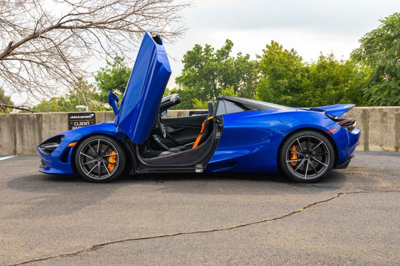 New 2021 McLaren 720S for sale $340,510 at McLaren North Jersey in Ramsey NJ 07446 8