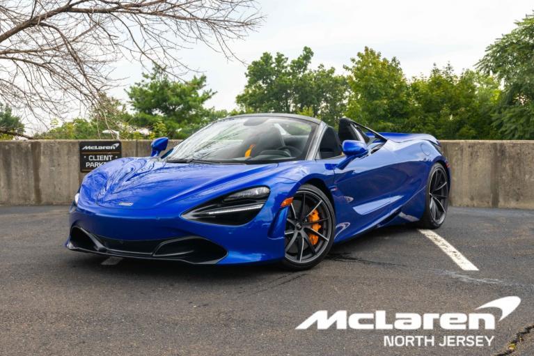 New 2021 McLaren 720S Spider for sale $340,510 at McLaren North Jersey in Ramsey NJ