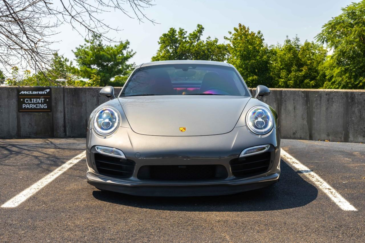 Used 2015 Porsche 911 Turbo S Coupe for sale $150,000 at McLaren North Jersey in Ramsey NJ 07446 10