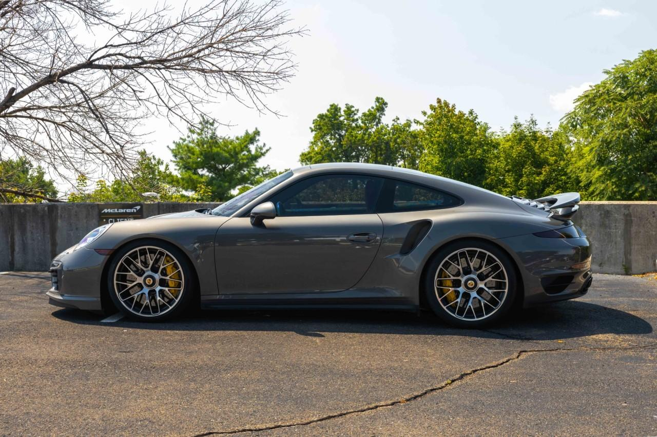 Used 2015 Porsche 911 Turbo S Coupe for sale $150,000 at McLaren North Jersey in Ramsey NJ 07446 2