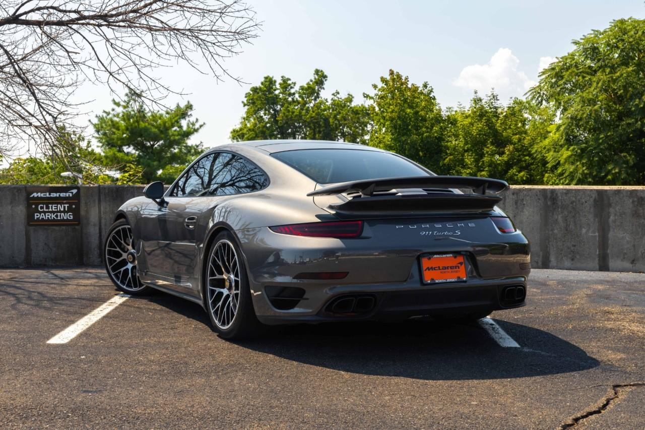 Used 2015 Porsche 911 Turbo S Coupe for sale $150,000 at McLaren North Jersey in Ramsey NJ 07446 3