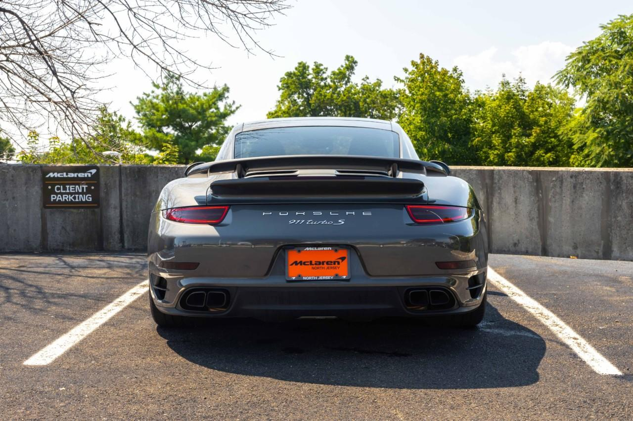 Used 2015 Porsche 911 Turbo S Coupe for sale $150,000 at McLaren North Jersey in Ramsey NJ 07446 4