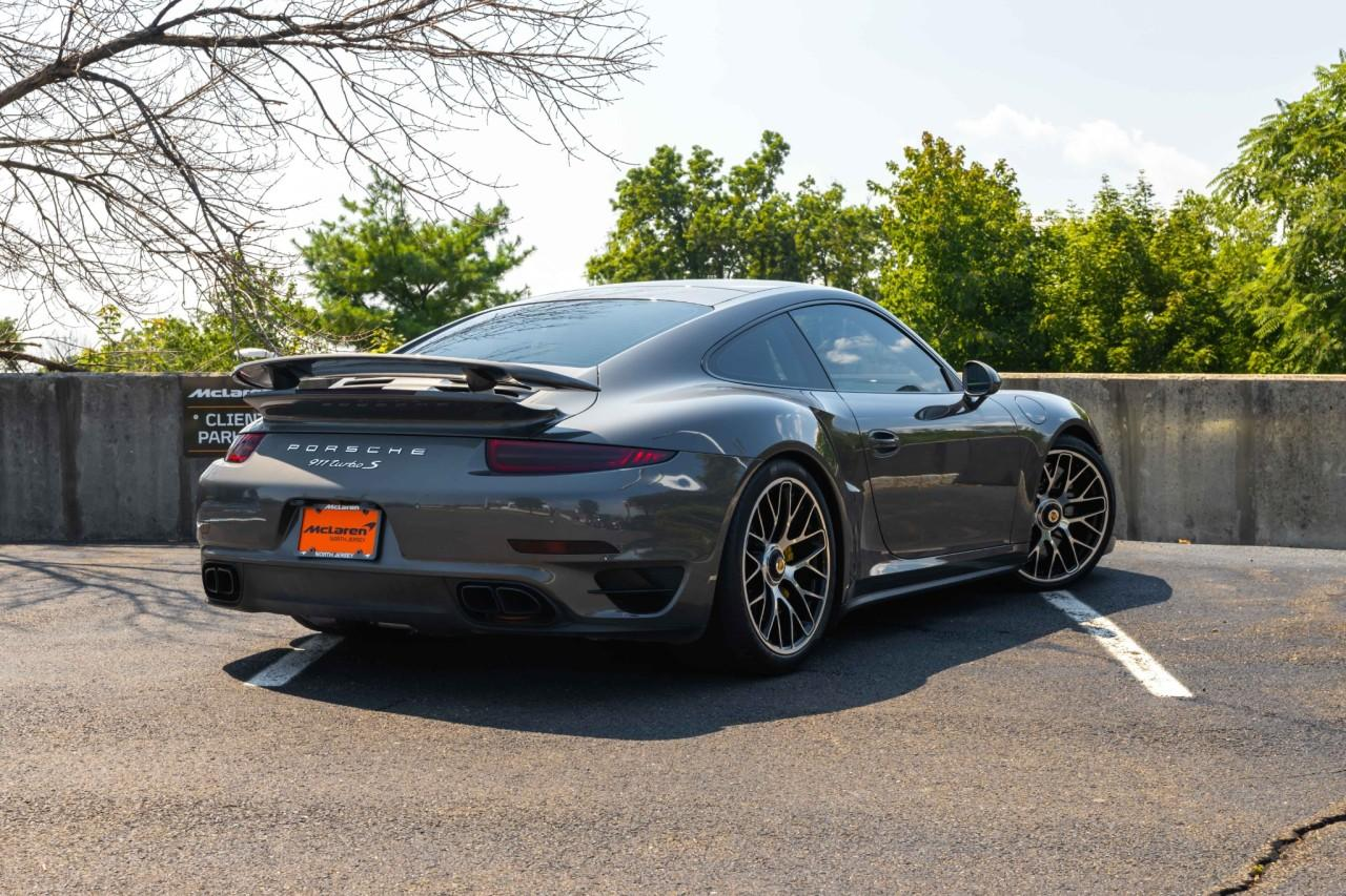 Used 2015 Porsche 911 Turbo S Coupe for sale $150,000 at McLaren North Jersey in Ramsey NJ 07446 7