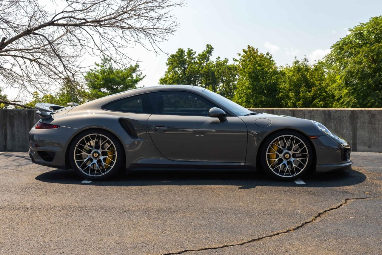 Used 2015 Porsche 911 Turbo S Coupe for sale $150,000 at McLaren North Jersey in Ramsey NJ 07446 8
