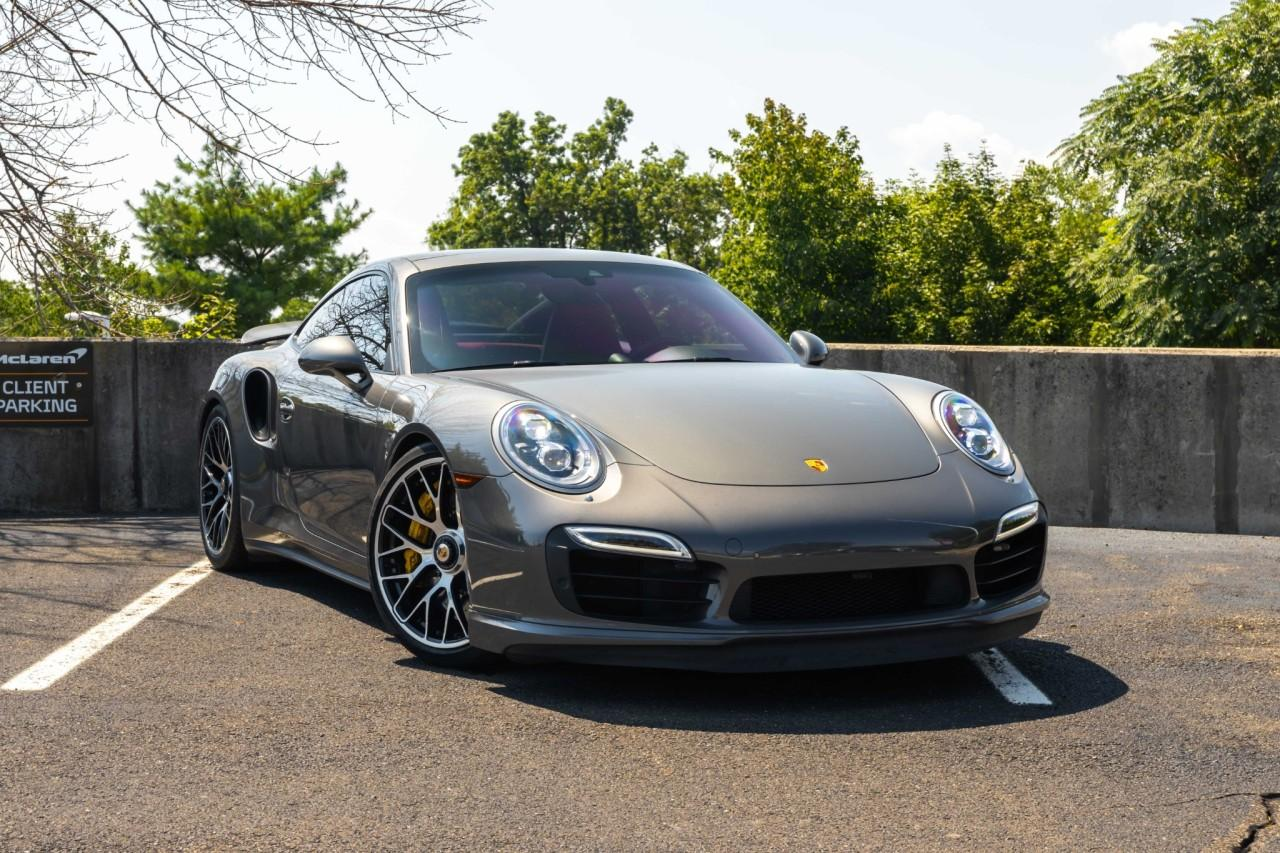 Used 2015 Porsche 911 Turbo S Coupe for sale $150,000 at McLaren North Jersey in Ramsey NJ 07446 9