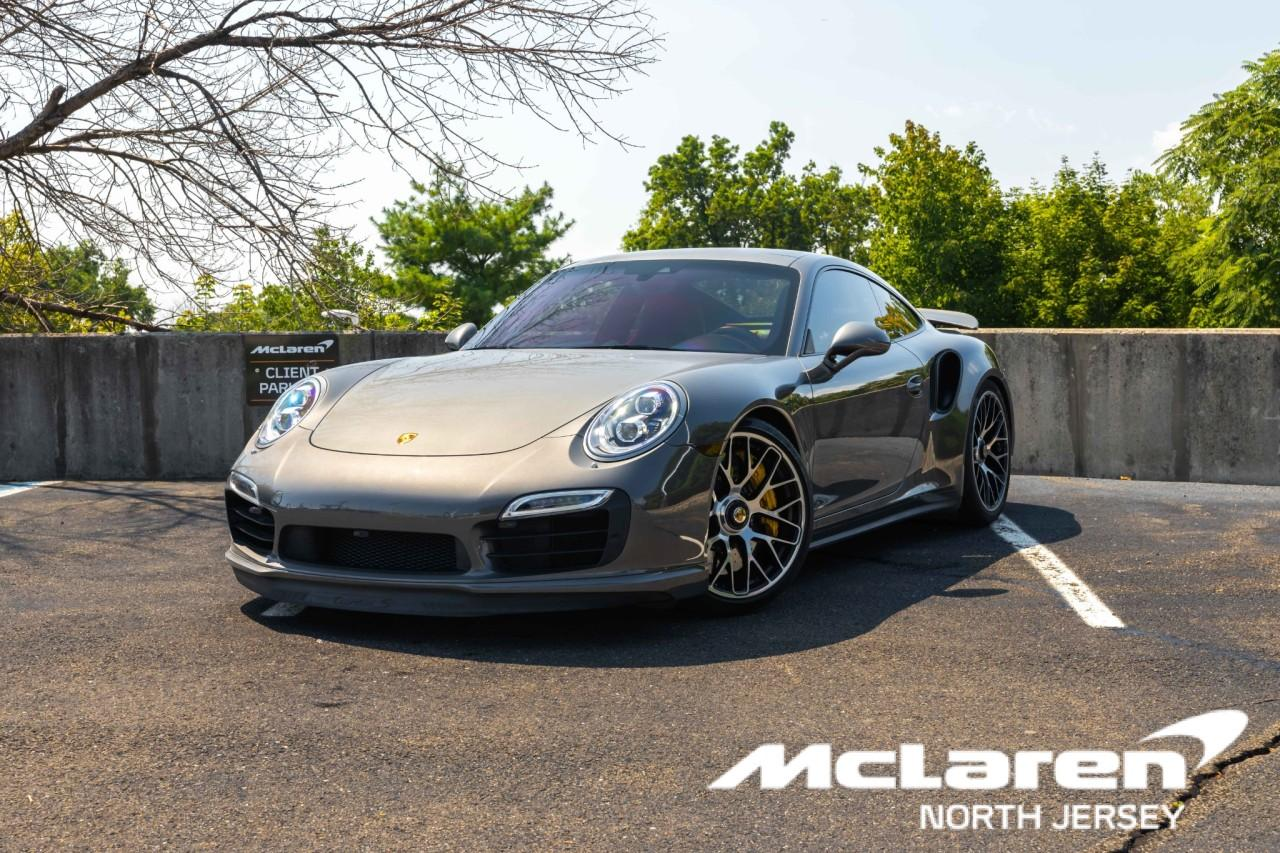 Used 2015 Porsche 911 Turbo S Coupe for sale $150,000 at McLaren North Jersey in Ramsey NJ 07446 1