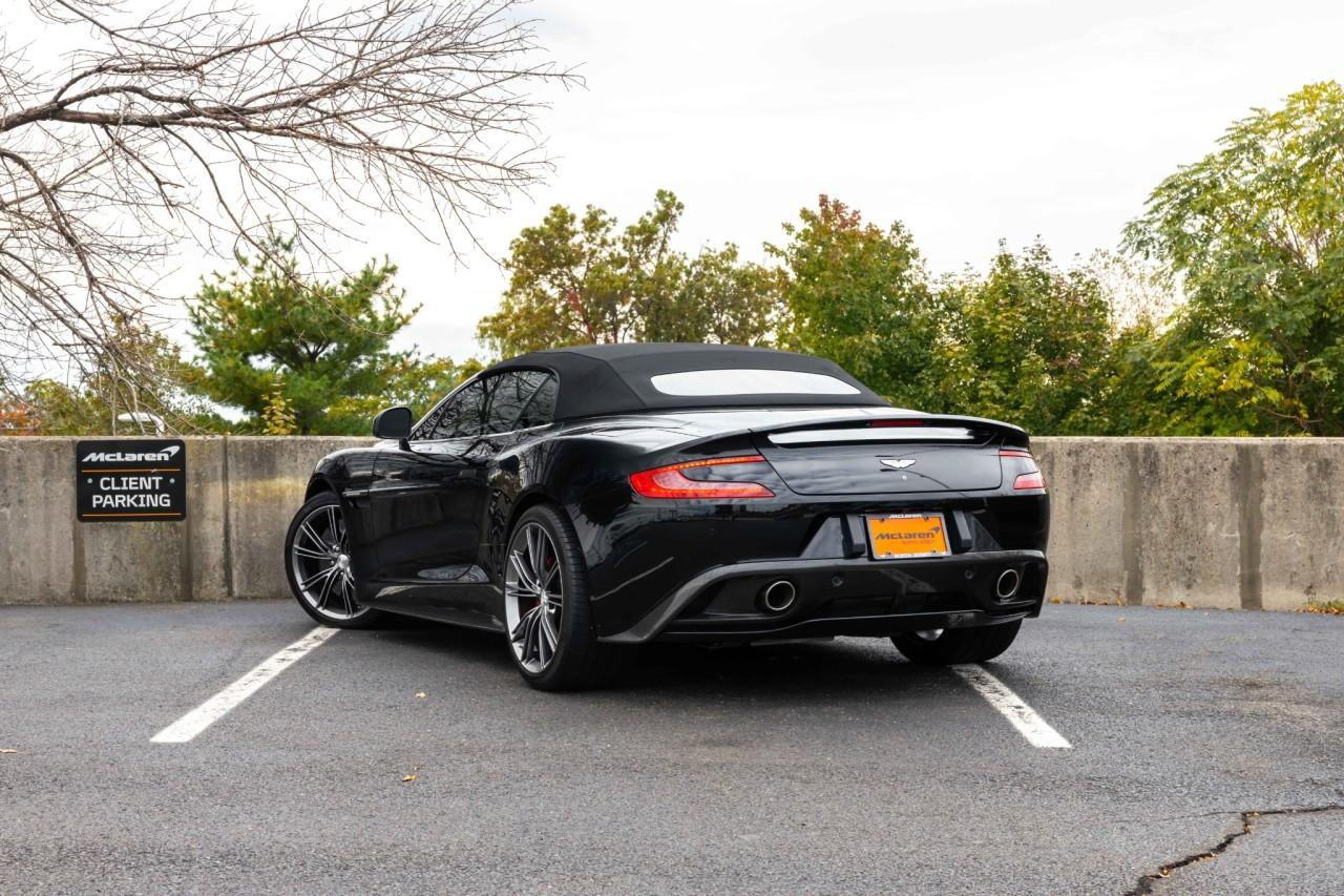 Used 2014 Aston Martin Vanquish Volante Convertible for sale $130,000 at McLaren North Jersey in Ramsey NJ 07446 5
