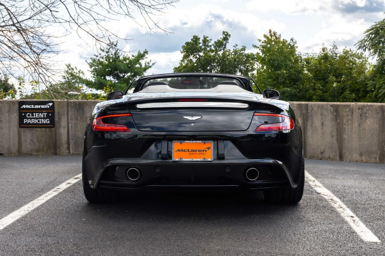 Used 2014 Aston Martin Vanquish Volante Convertible for sale $130,000 at McLaren North Jersey in Ramsey NJ 07446 6