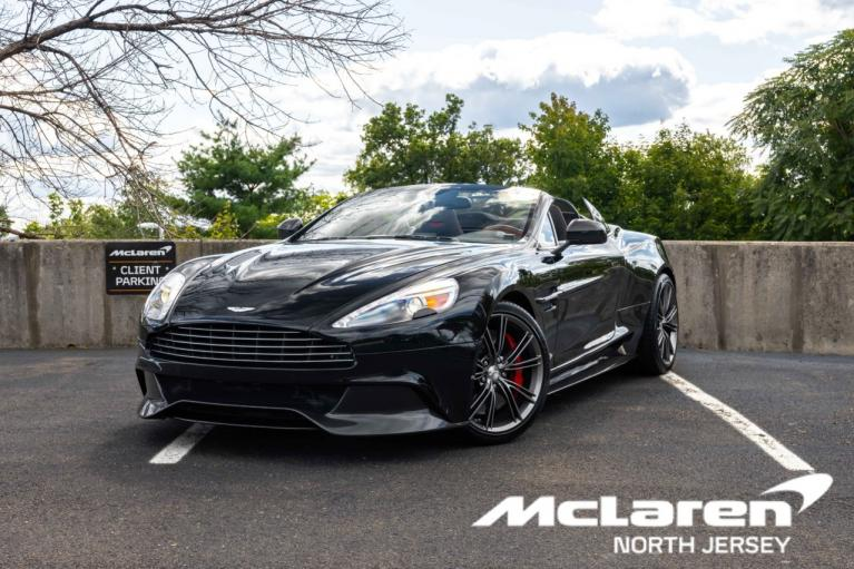Used 2014 Aston Martin Vanquish Volante Convertible for sale $130,000 at McLaren North Jersey in Ramsey NJ