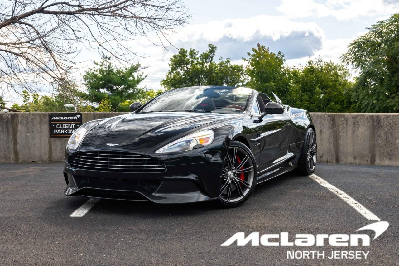 Used 2014 Aston Martin Vanquish Volante Convertible for sale $130,000 at McLaren North Jersey in Ramsey NJ 07446 1