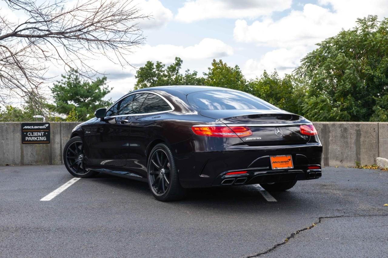 Used 2017 Mercedes-Benz S-Class AMG S 63 for sale $112,000 at McLaren North Jersey in Ramsey NJ 07446 3
