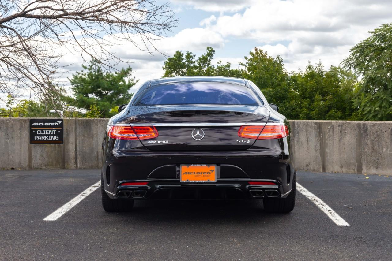 Used 2017 Mercedes-Benz S-Class AMG S 63 for sale $112,000 at McLaren North Jersey in Ramsey NJ 07446 4