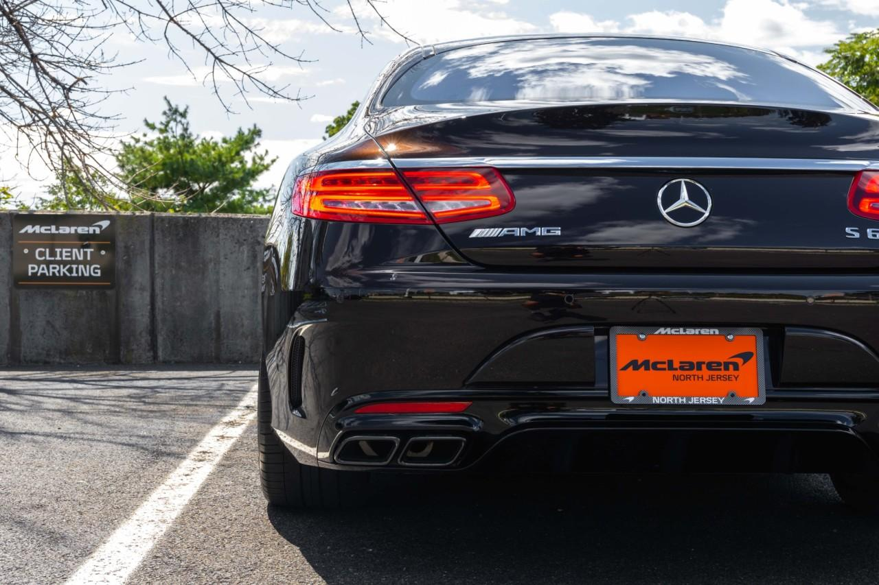 Used 2017 Mercedes-Benz S-Class AMG S 63 for sale $112,000 at McLaren North Jersey in Ramsey NJ 07446 5