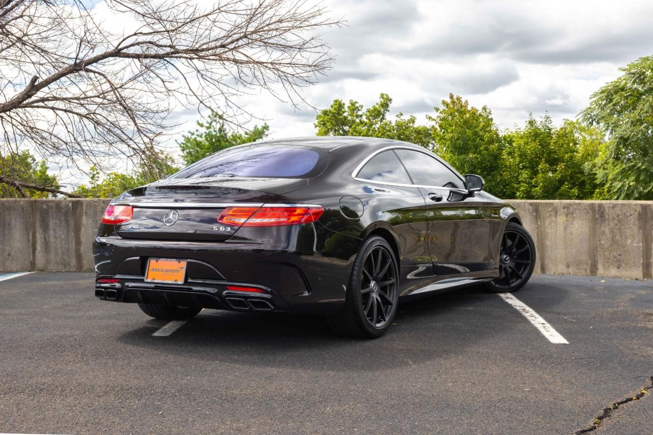 Used 2017 Mercedes-Benz S-Class AMG S 63 for sale $112,000 at McLaren North Jersey in Ramsey NJ 07446 7