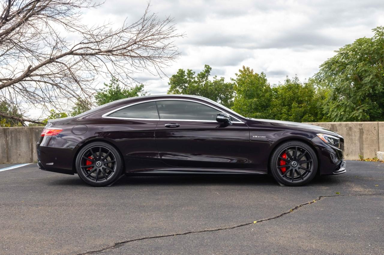 Used 2017 Mercedes-Benz S-Class AMG S 63 for sale $112,000 at McLaren North Jersey in Ramsey NJ 07446 8