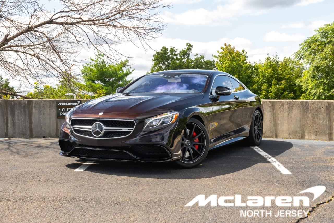 Used 2017 Mercedes-Benz S-Class AMG S 63 for sale $112,000 at McLaren North Jersey in Ramsey NJ 07446 1