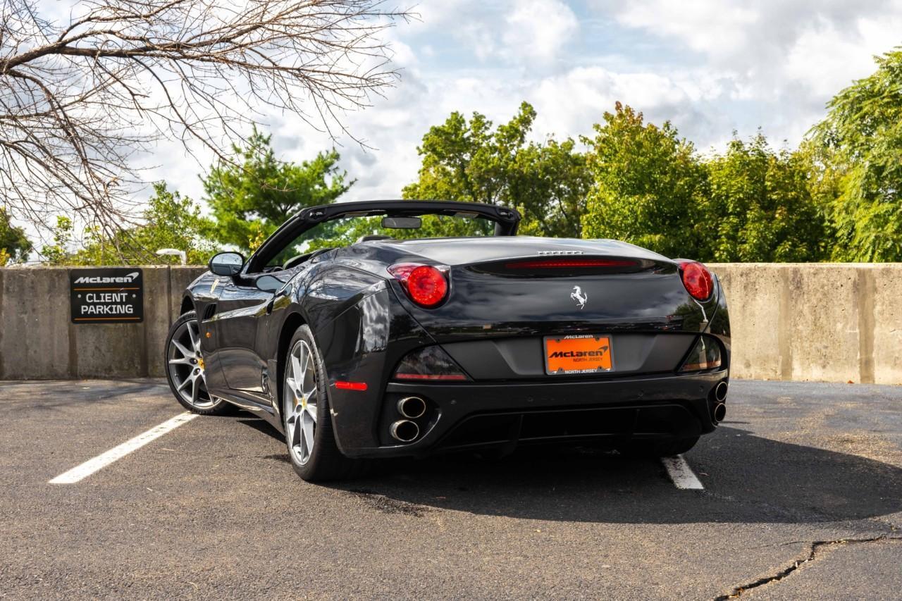 Used 2011 Ferrari California for sale $120,000 at McLaren North Jersey in Ramsey NJ 07446 4