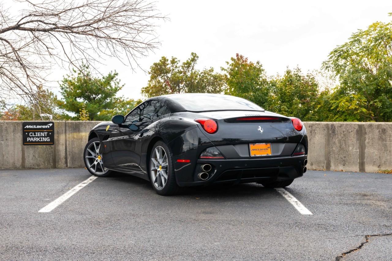 Used 2011 Ferrari California for sale $120,000 at McLaren North Jersey in Ramsey NJ 07446 5