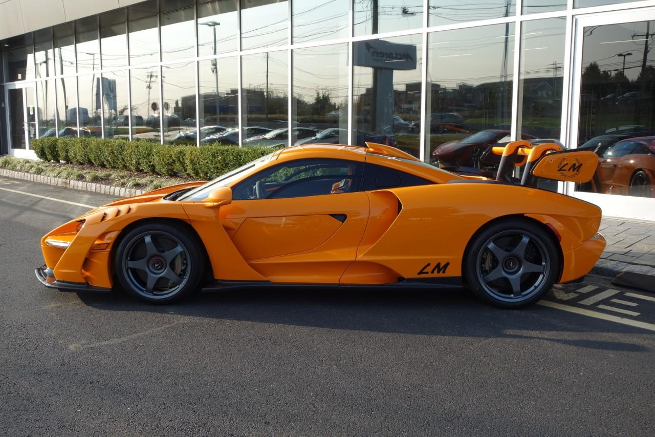 Used 2019 McLaren Senna LM for sale Call for price at McLaren North Jersey in Ramsey NJ 07446 3