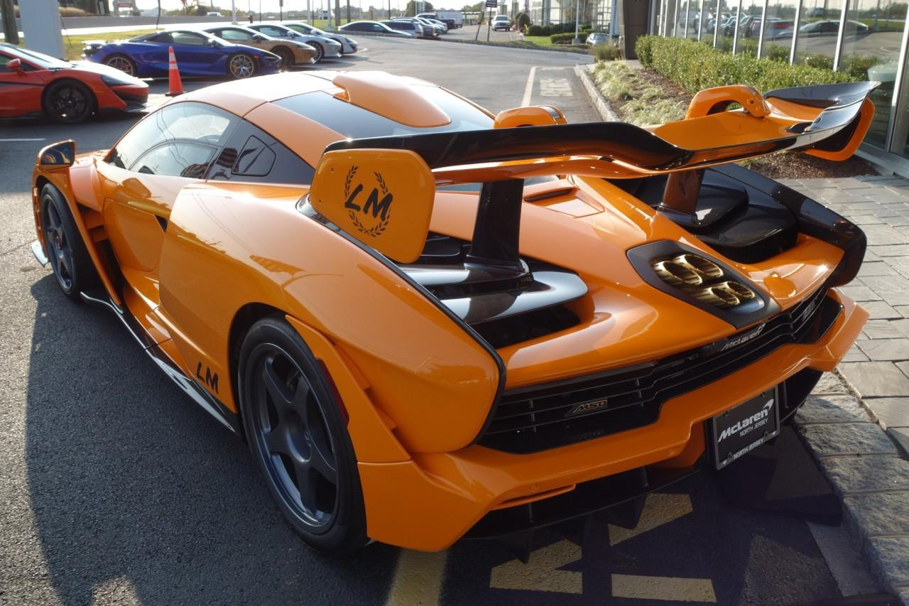 Used 2019 McLaren Senna LM for sale Call for price at McLaren North Jersey in Ramsey NJ 07446 7