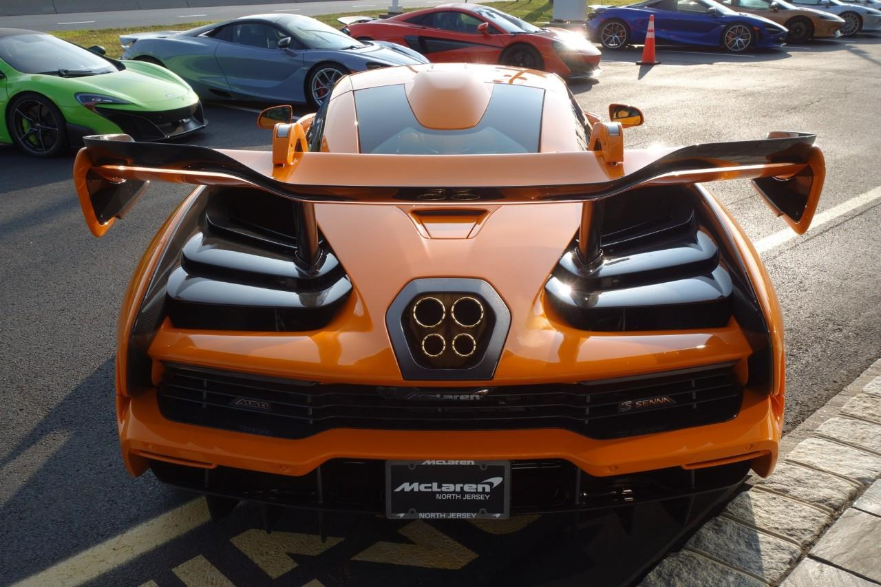 Used 2019 McLaren Senna LM for sale Call for price at McLaren North Jersey in Ramsey NJ 07446 8