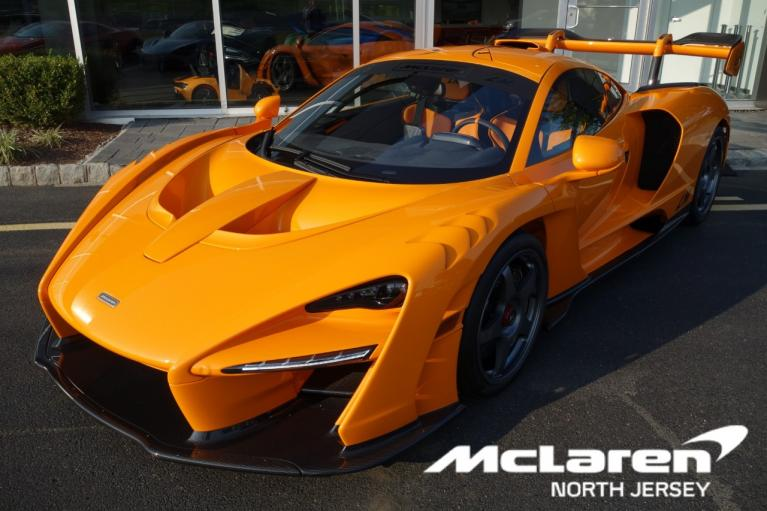 Used 2019 McLaren Senna LM for sale Call for price at McLaren North Jersey in Ramsey NJ