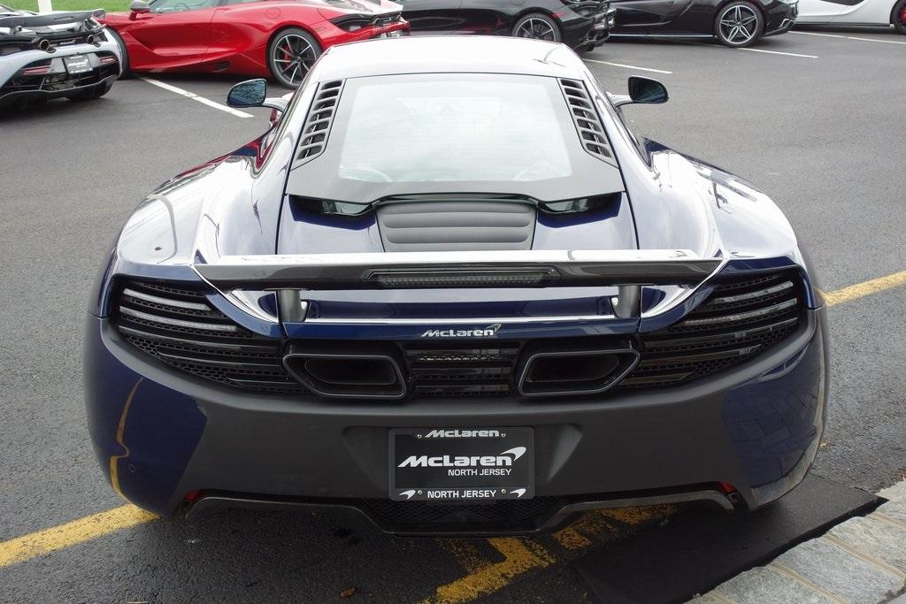 Used 2012 McLaren MP4-12C for sale $105,900 at McLaren North Jersey in Ramsey NJ 07446 8