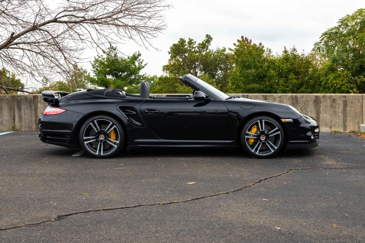 Used 2012 Porsche 911 Turbo S Cabriolet for sale $115,000 at McLaren North Jersey in Ramsey NJ 07446 10