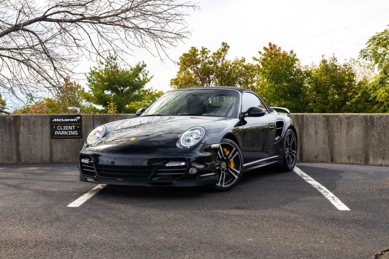 Used 2012 Porsche 911 Turbo S Cabriolet for sale $115,000 at McLaren North Jersey in Ramsey NJ 07446 2