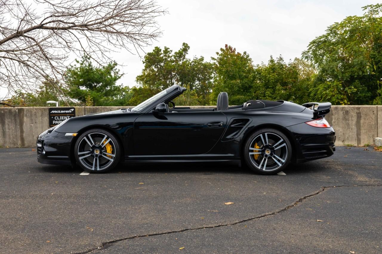 Used 2012 Porsche 911 Turbo S Cabriolet for sale $115,000 at McLaren North Jersey in Ramsey NJ 07446 3
