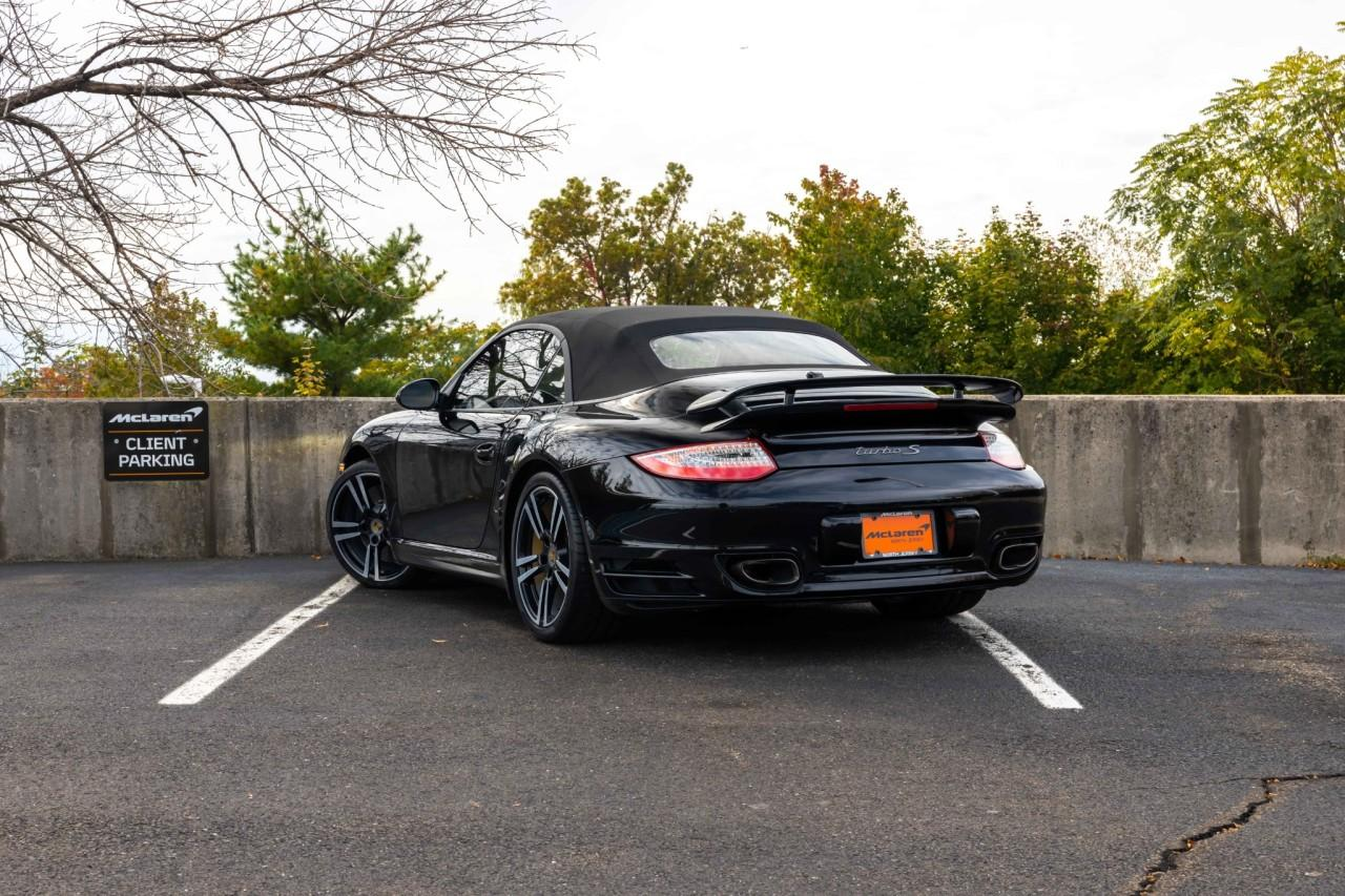 Used 2012 Porsche 911 Turbo S Cabriolet for sale $115,000 at McLaren North Jersey in Ramsey NJ 07446 5