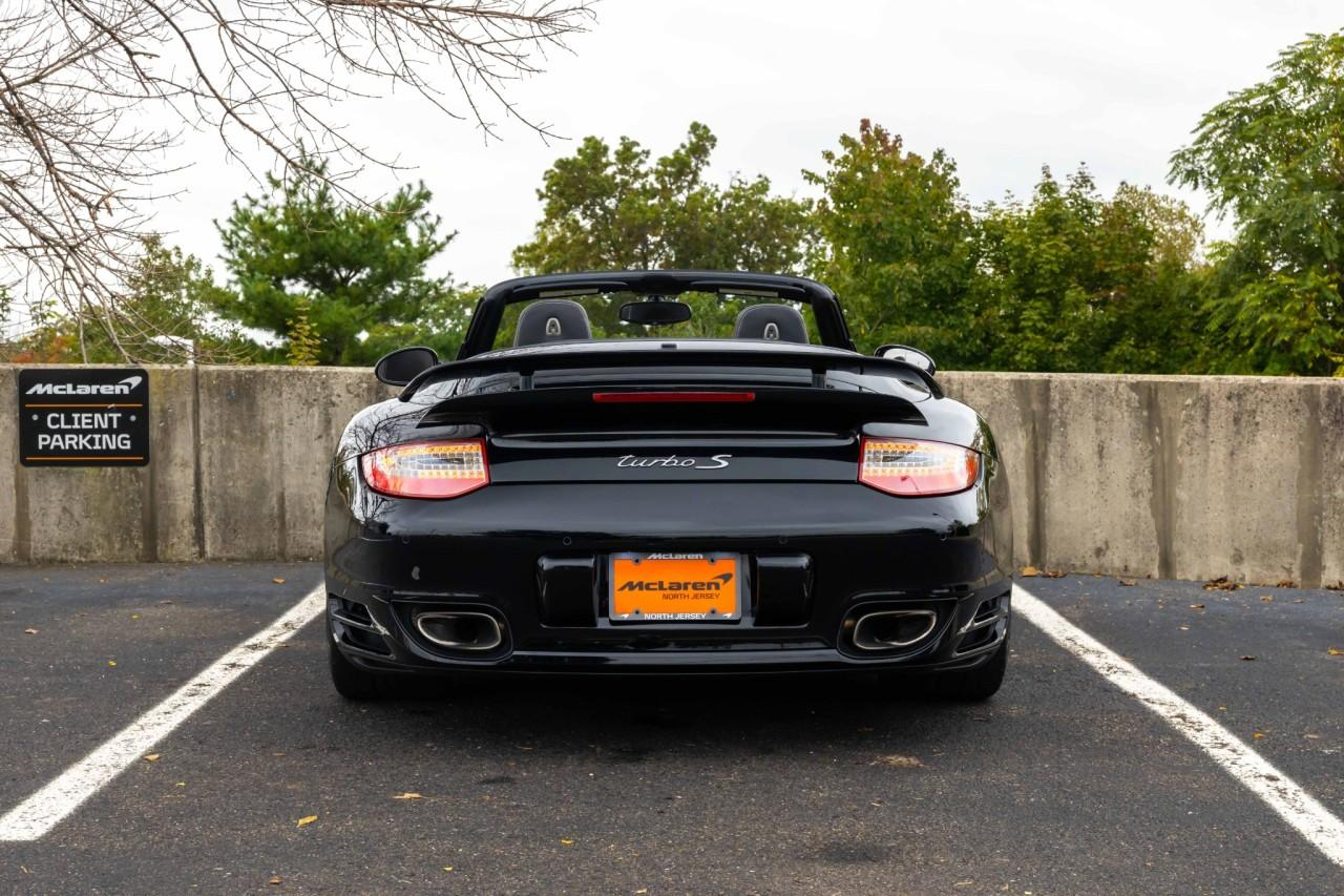 Used 2012 Porsche 911 Turbo S Cabriolet for sale $115,000 at McLaren North Jersey in Ramsey NJ 07446 6