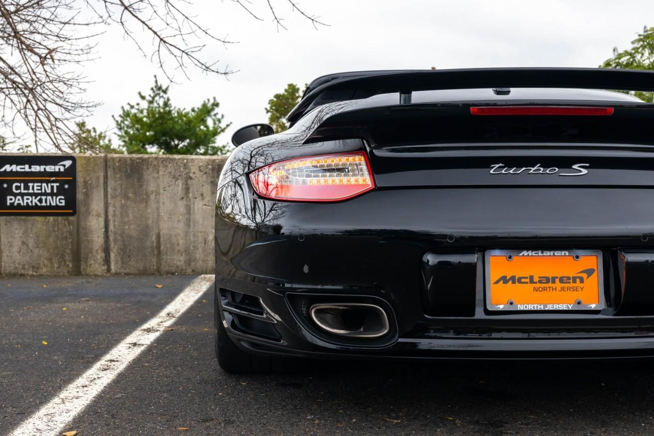 Used 2012 Porsche 911 Turbo S Cabriolet for sale $115,000 at McLaren North Jersey in Ramsey NJ 07446 7