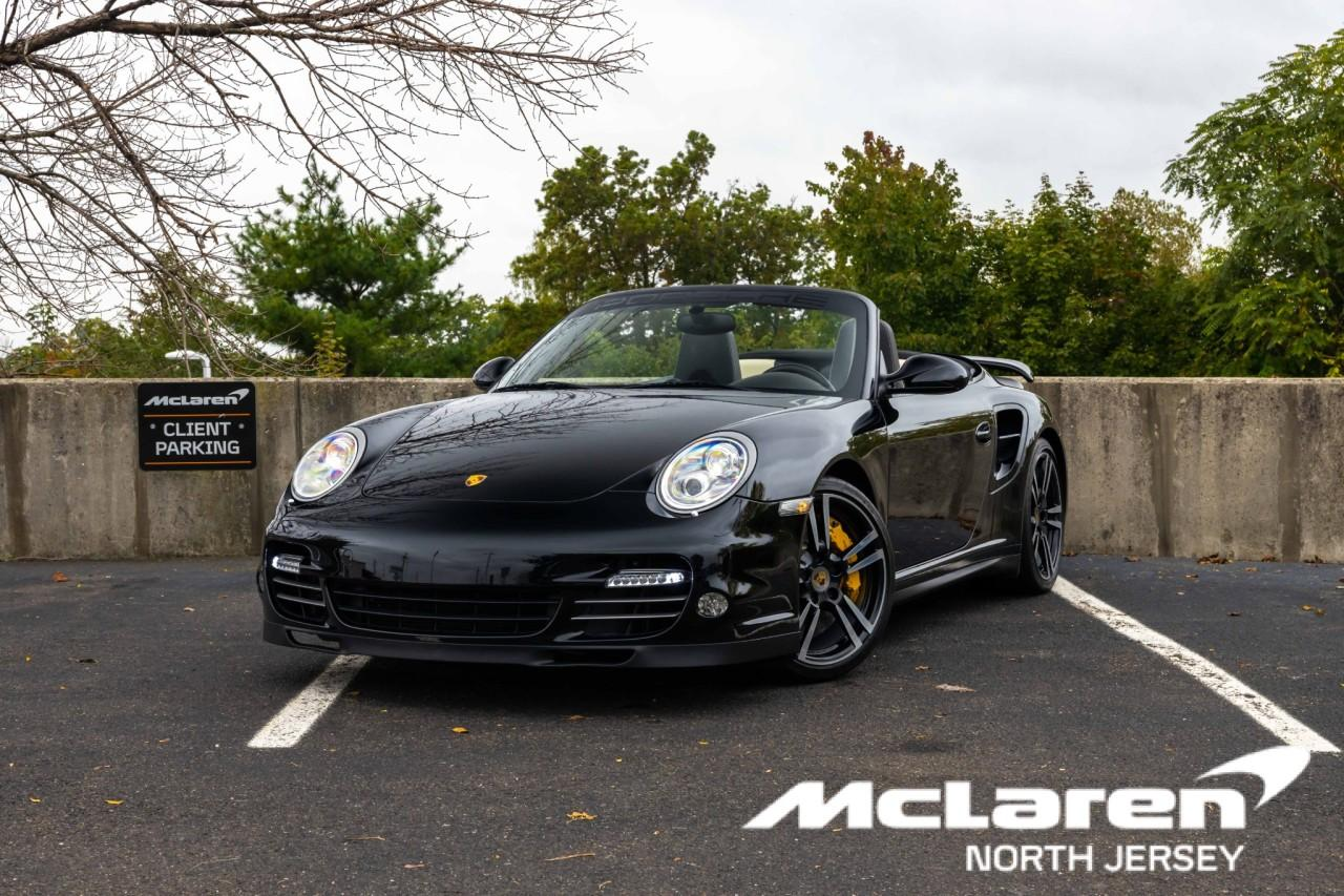 Used 2012 Porsche 911 Turbo S Cabriolet for sale $115,000 at McLaren North Jersey in Ramsey NJ 07446 1