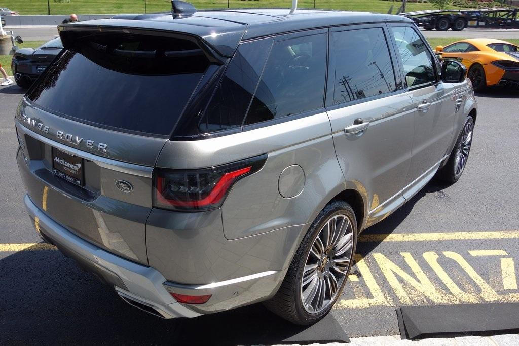 Used 2018 Land Rover Range Rover Sport 5.0L V8 Supercharged Autobiography for sale Sold at McLaren North Jersey in Ramsey NJ 07446 8