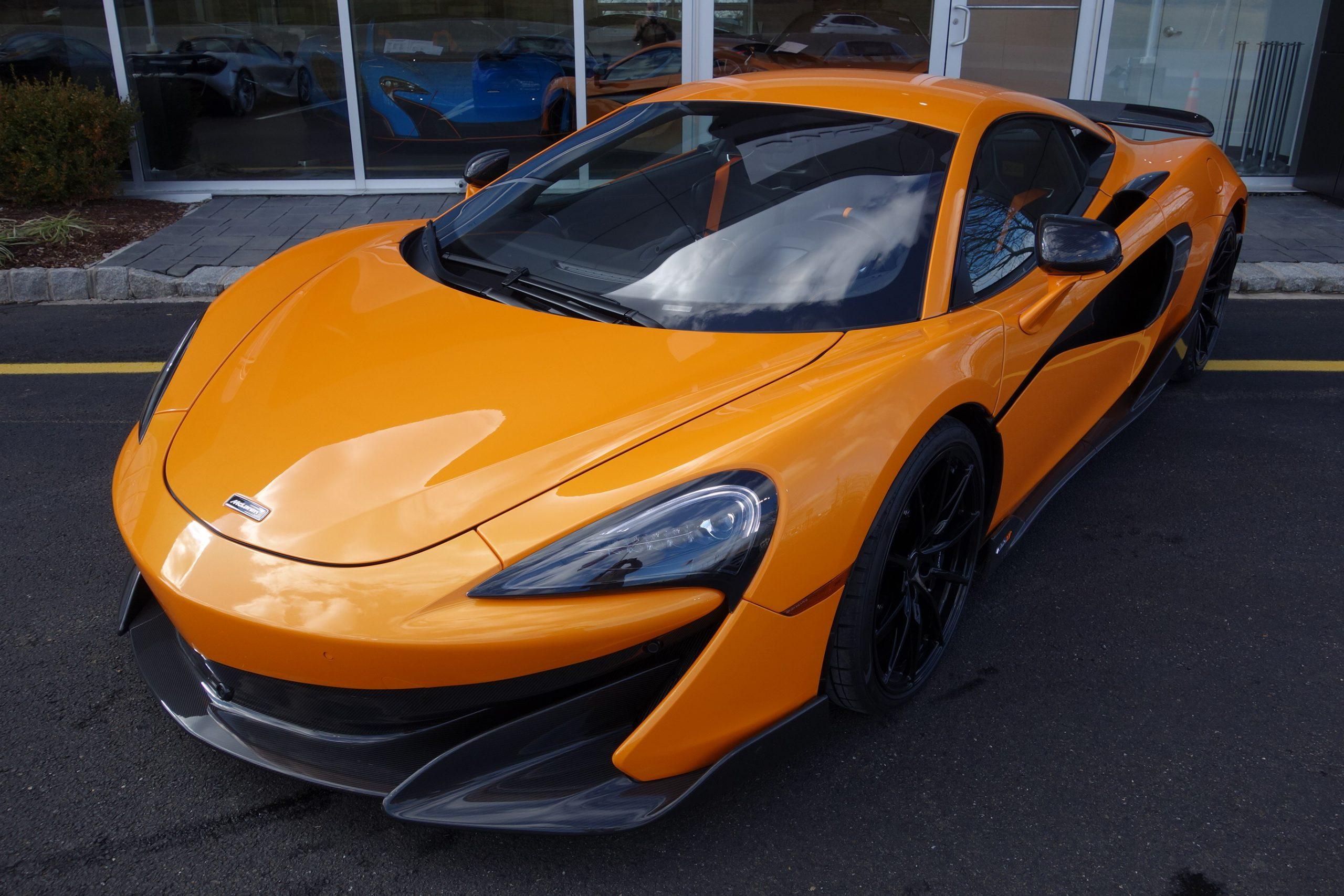 2019 McLaren 600LT Coupe $239,900