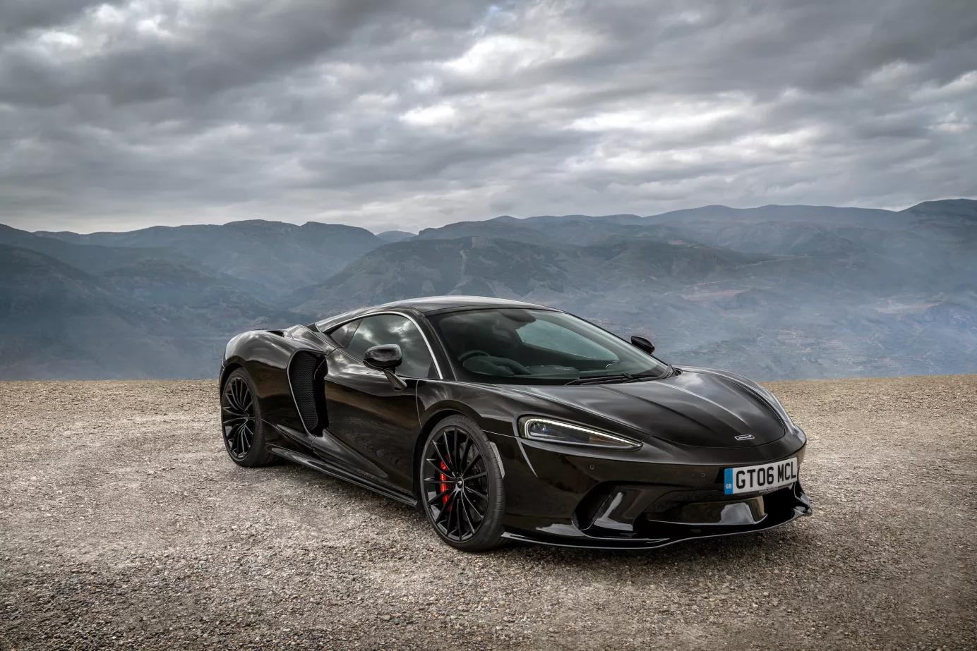 McLaren GT3 Front View