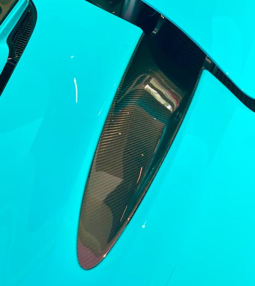 McLaren 720 Carbon Fiber Air Duct Set