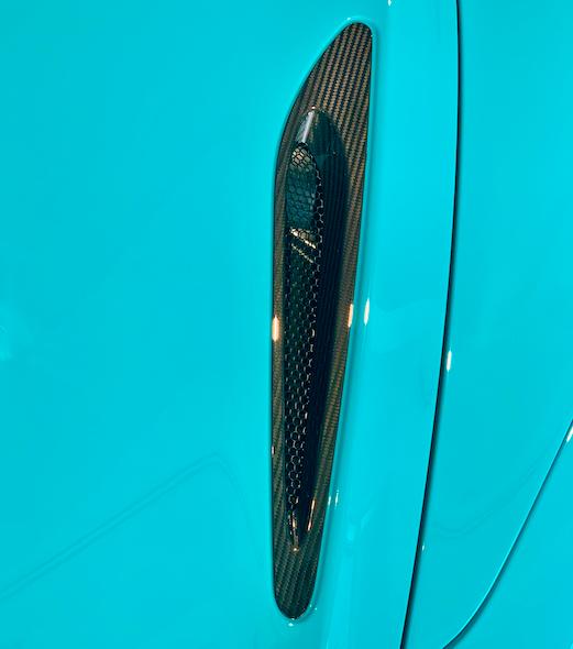 McLaren 720 Carbon Fiber Bonnet Duct Set