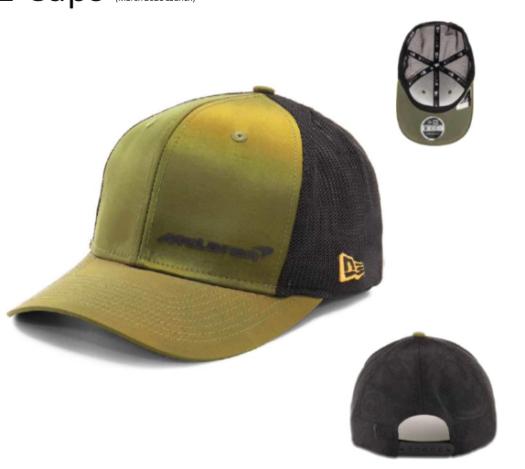 McLaren Lifestyle Green Trucker Cap