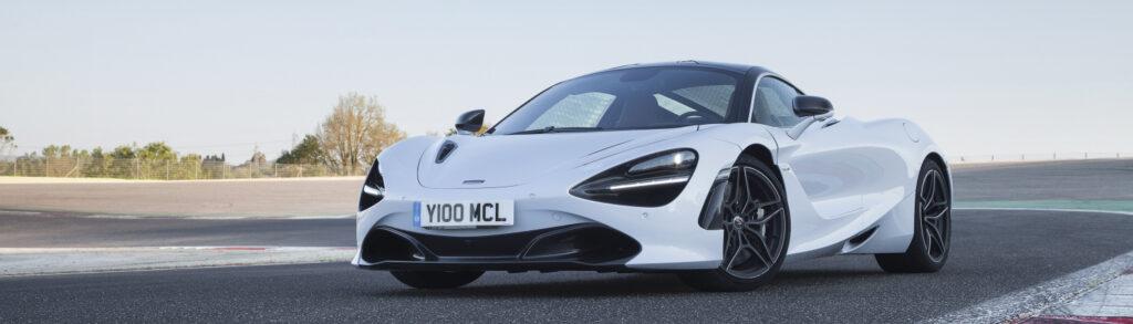McLaren 720S Glacier White