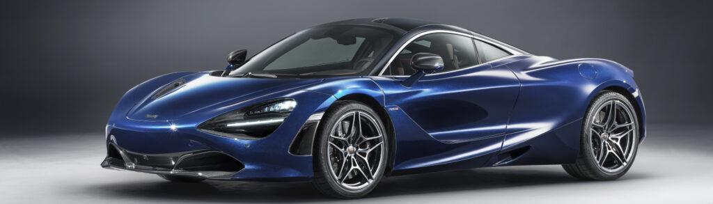 McLaren 720S Blue